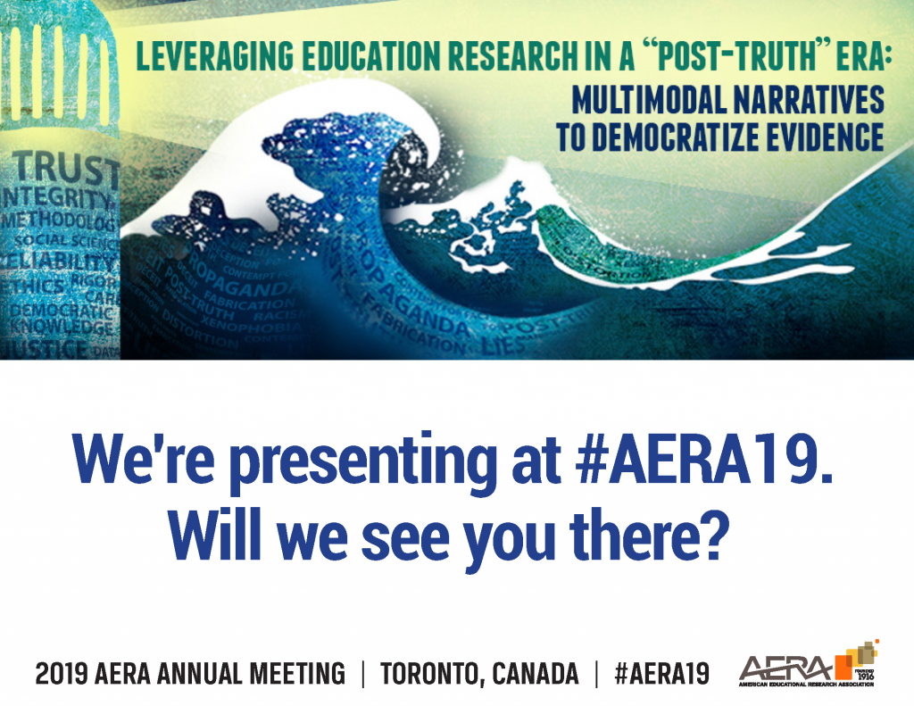 Gibson will present education research at 2019 AERA annual meeting.